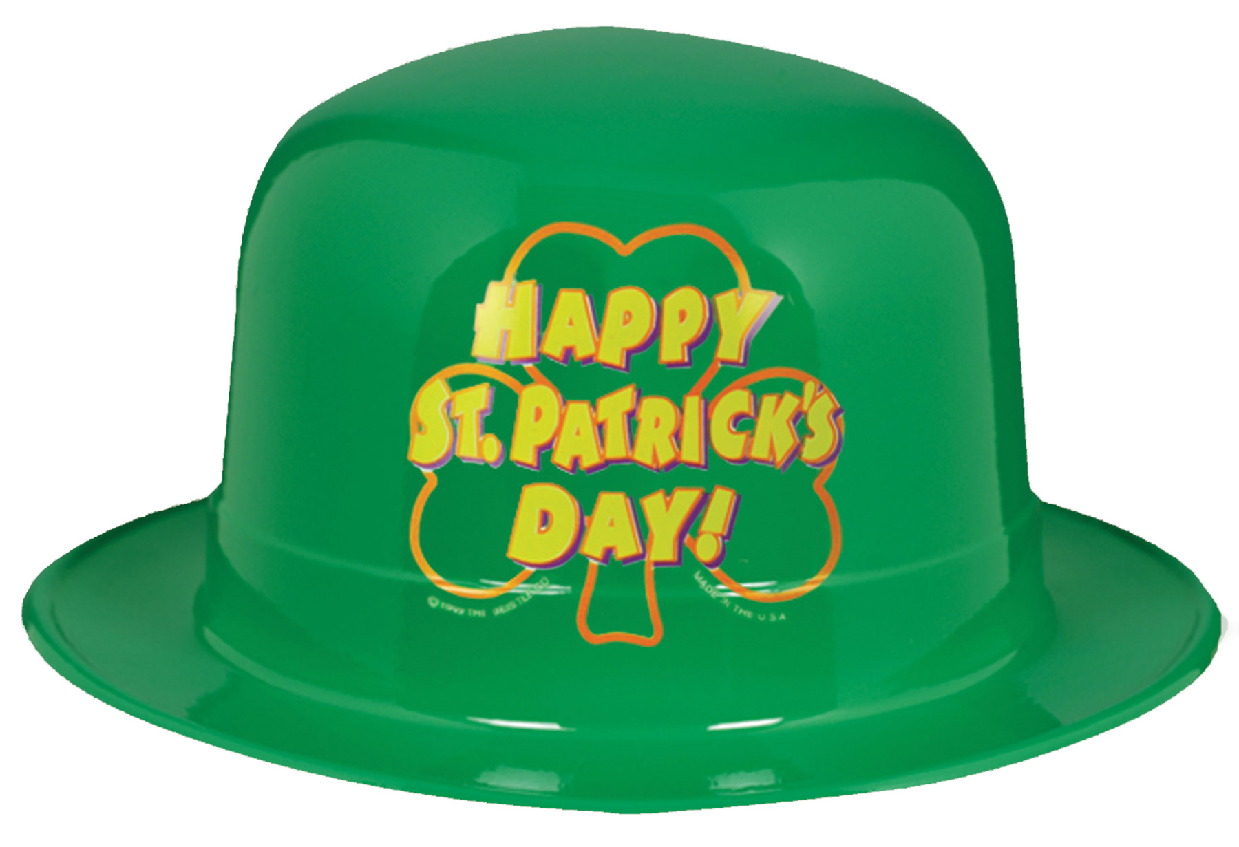 Featured Image for Plastic St. Patrick's Day Hats – Pack of 5