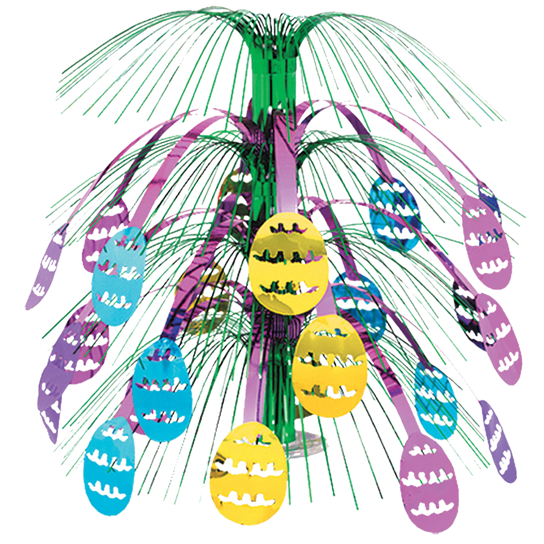 Featured Image for Easter Egg Cascade Centerpiece
