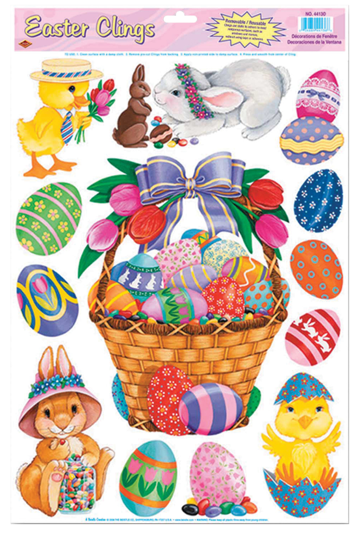 Featured Image for Easter Basket Friends Clings