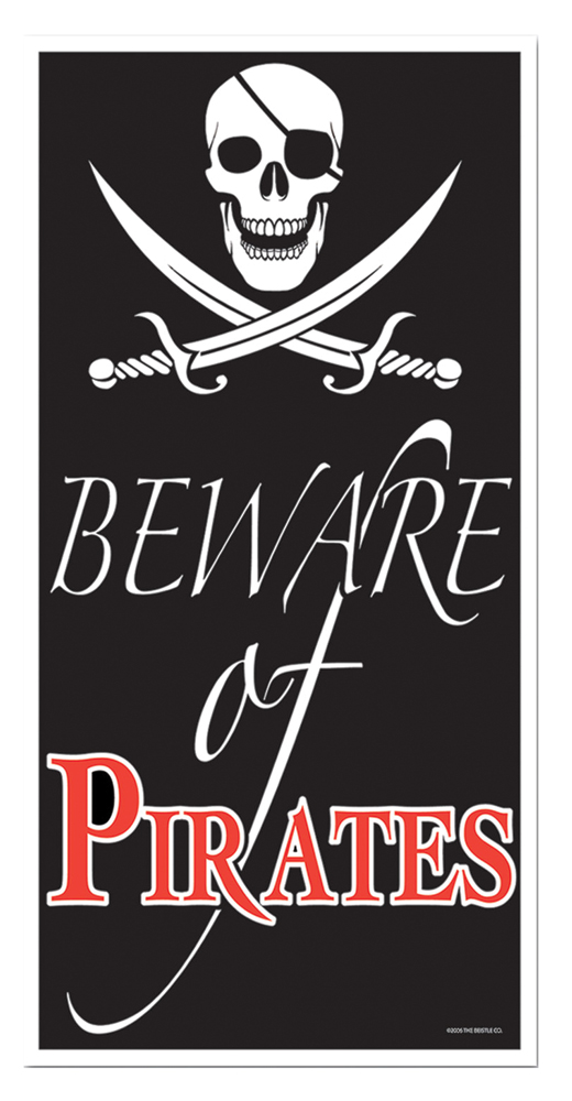 Featured Image for Beware of Pirate Door Cover