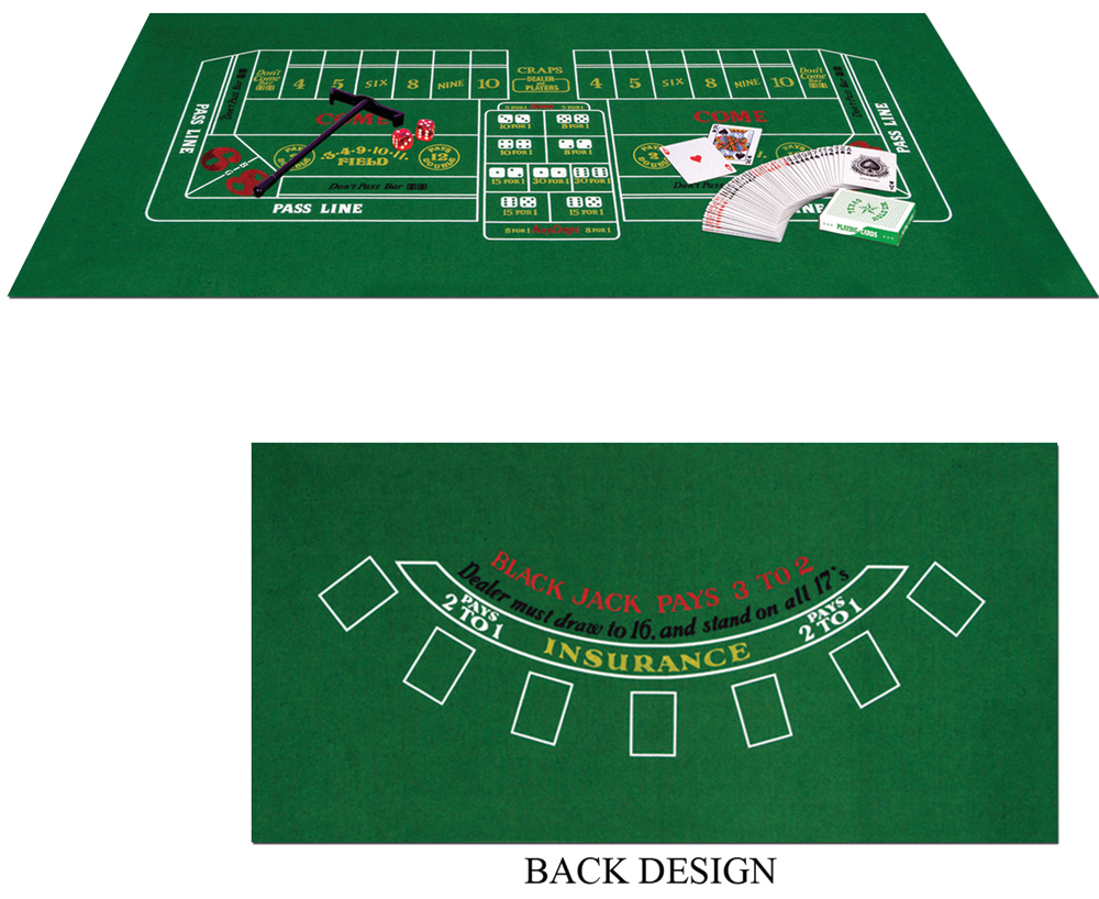 Featured Image for Blackjack Craps Set