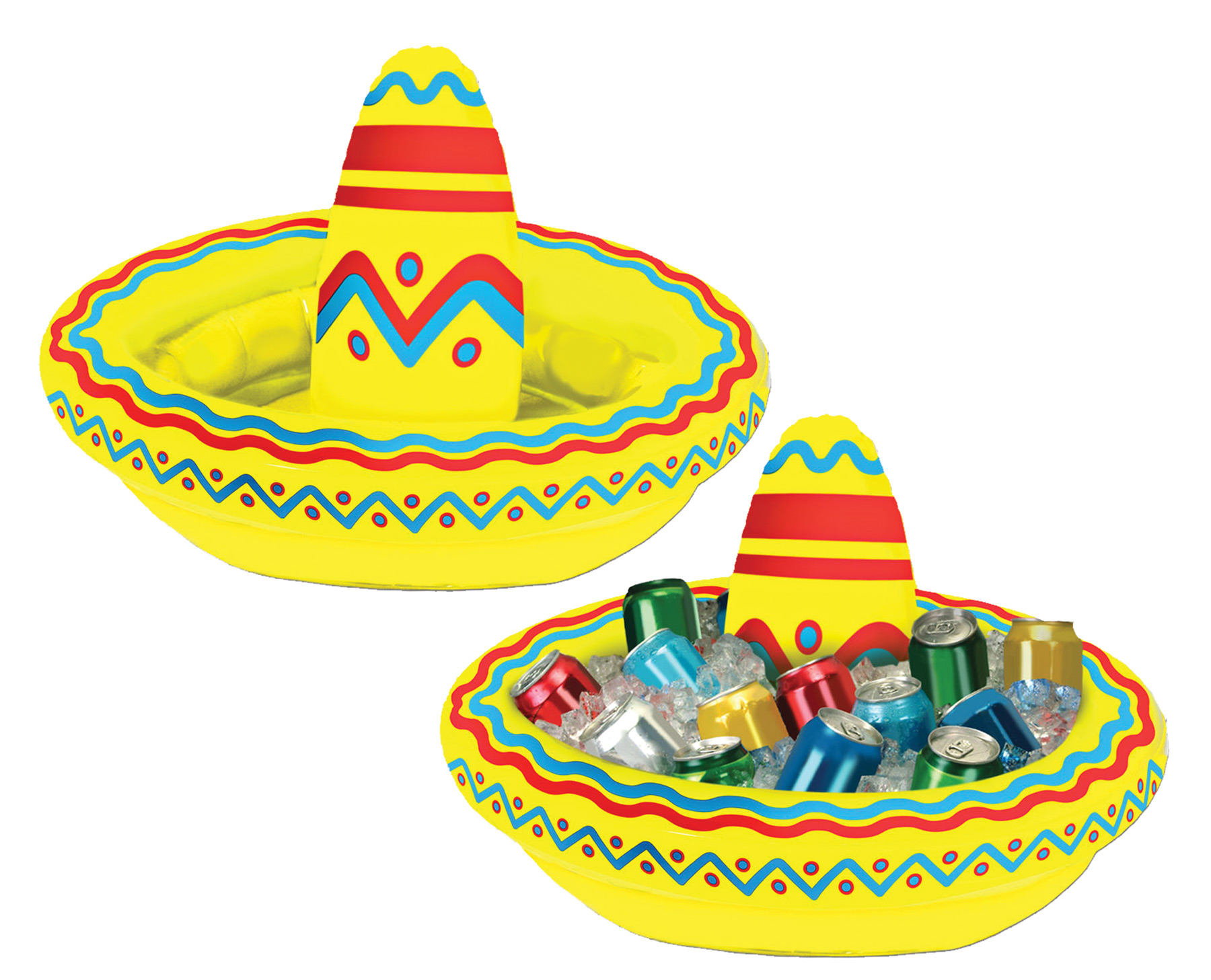 Featured Image for Inflatable Sombrero Cooler