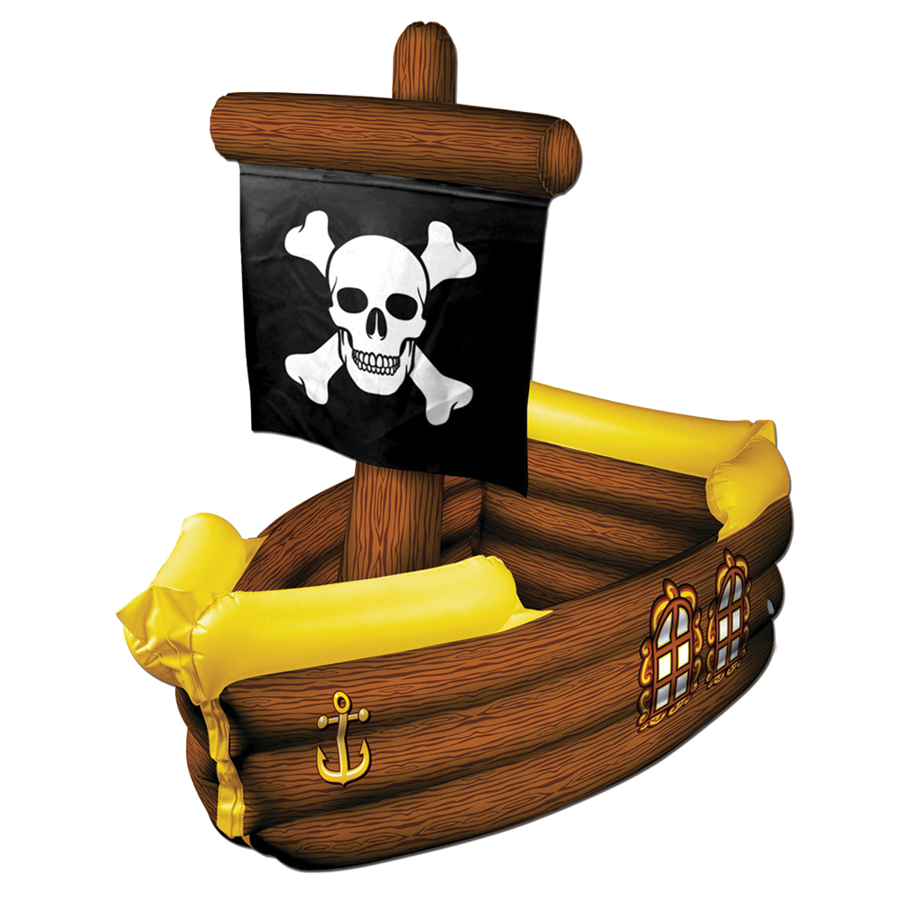 Featured Image for Pirate Ship Cooler Inflatable