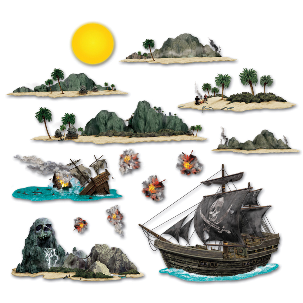 Featured Image for Pirate Ship & Island Props