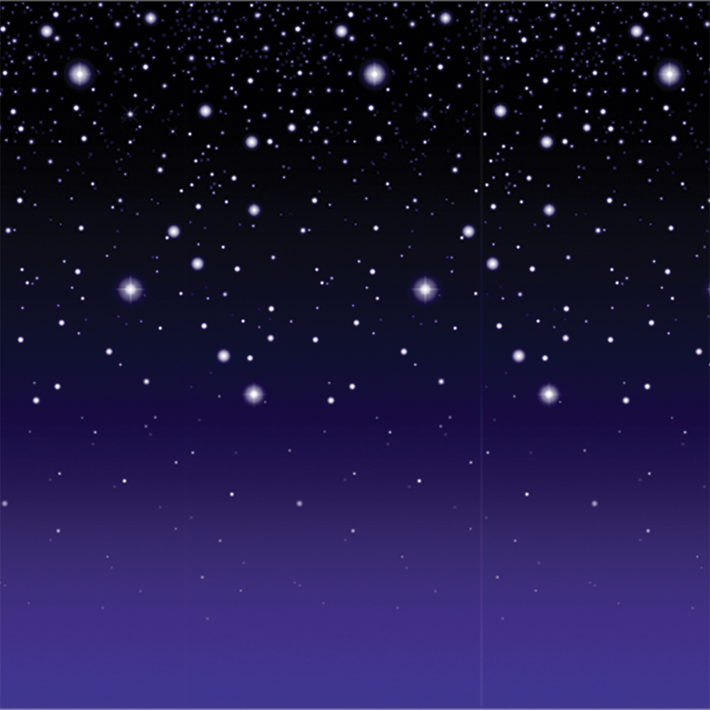 Featured Image for Starry Night Backdrop 4′ X 30′