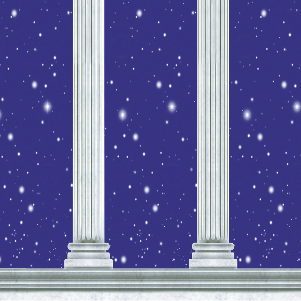 Featured Image for 4′ X 30′ Column Backdrop