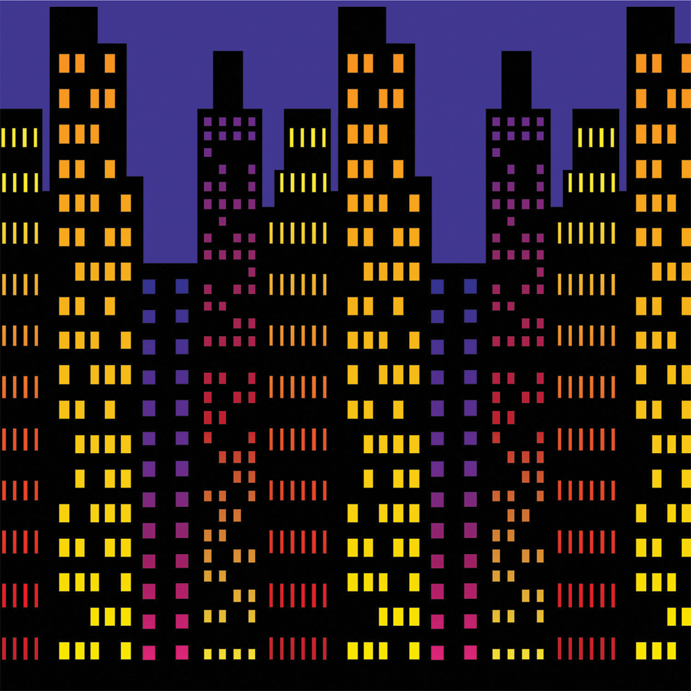 Featured Image for 4′ X 30′ Cityscape Backdrop