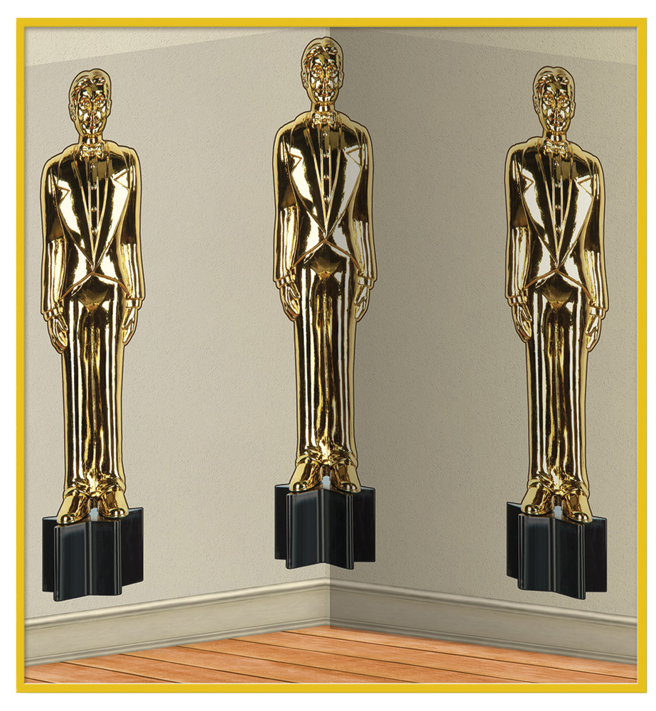 Featured Image for 4′ x 30′ Awards Night Male Statute Scene Setter