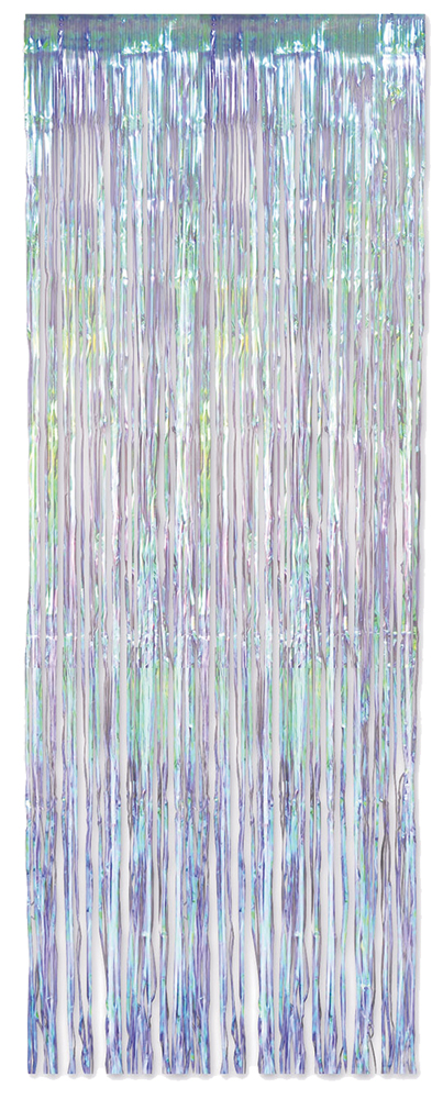 Featured Image for Iridescent Fringe Curtain