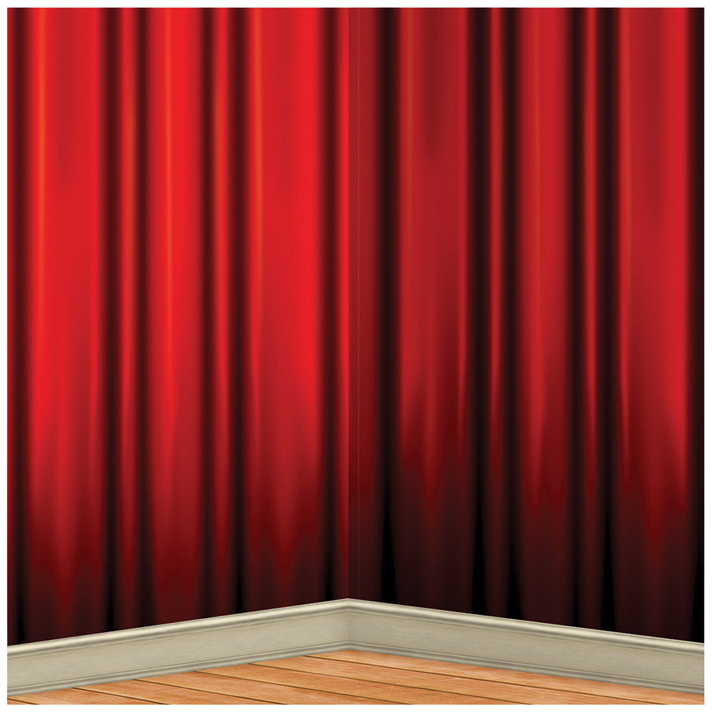 Featured Image for Red Curtain Backdrop 4′ X 30′