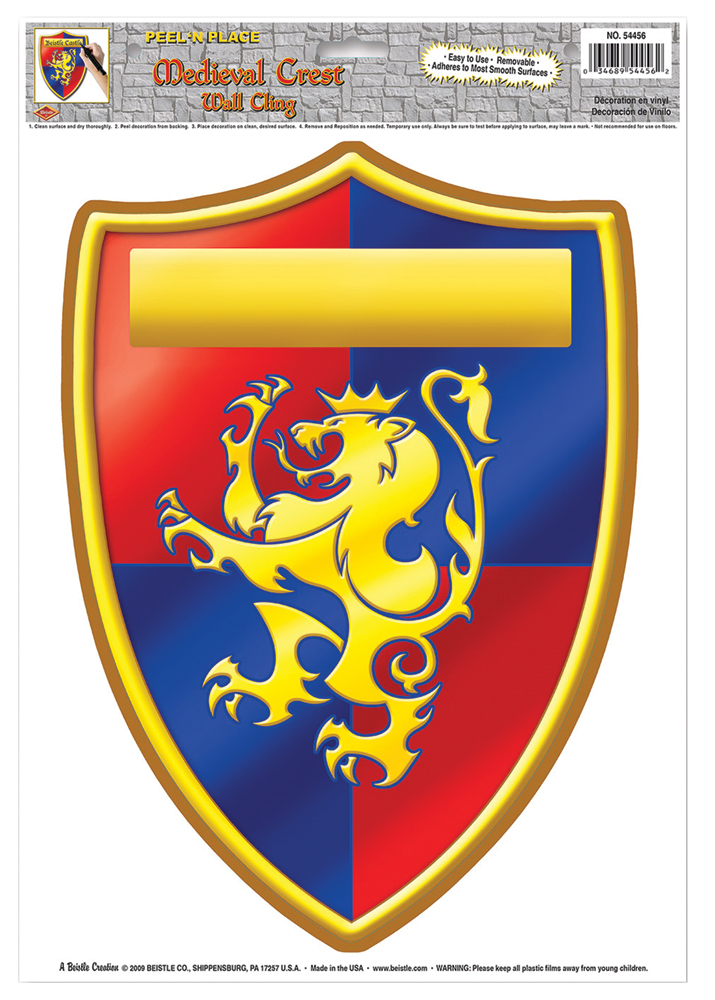 Featured Image for Medieval Crest Peel N Place