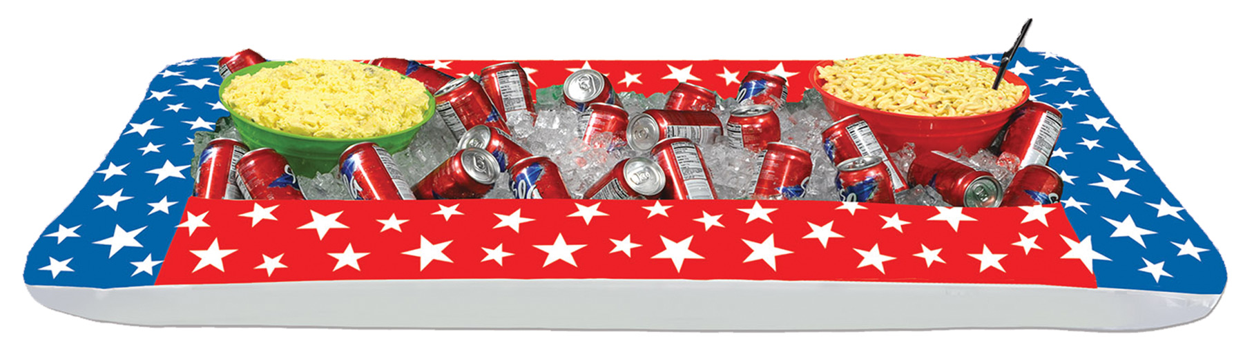 Featured Image for Inflatable Patriotic Buffet Cooler