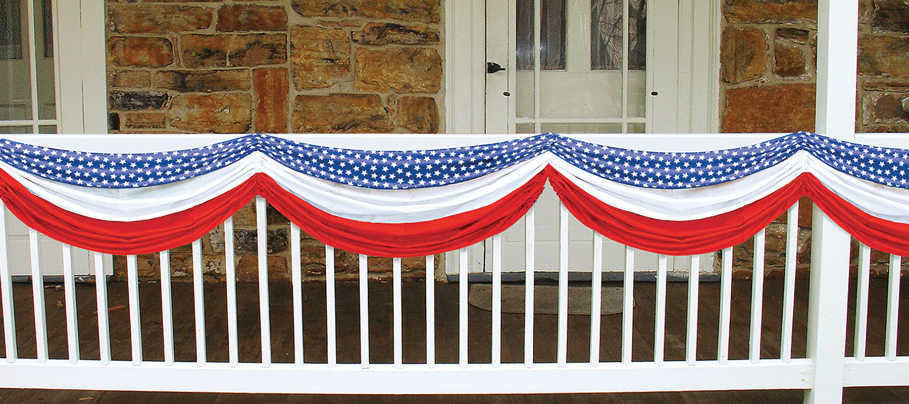 Featured Image for Stars Stripes Fabric Bunting