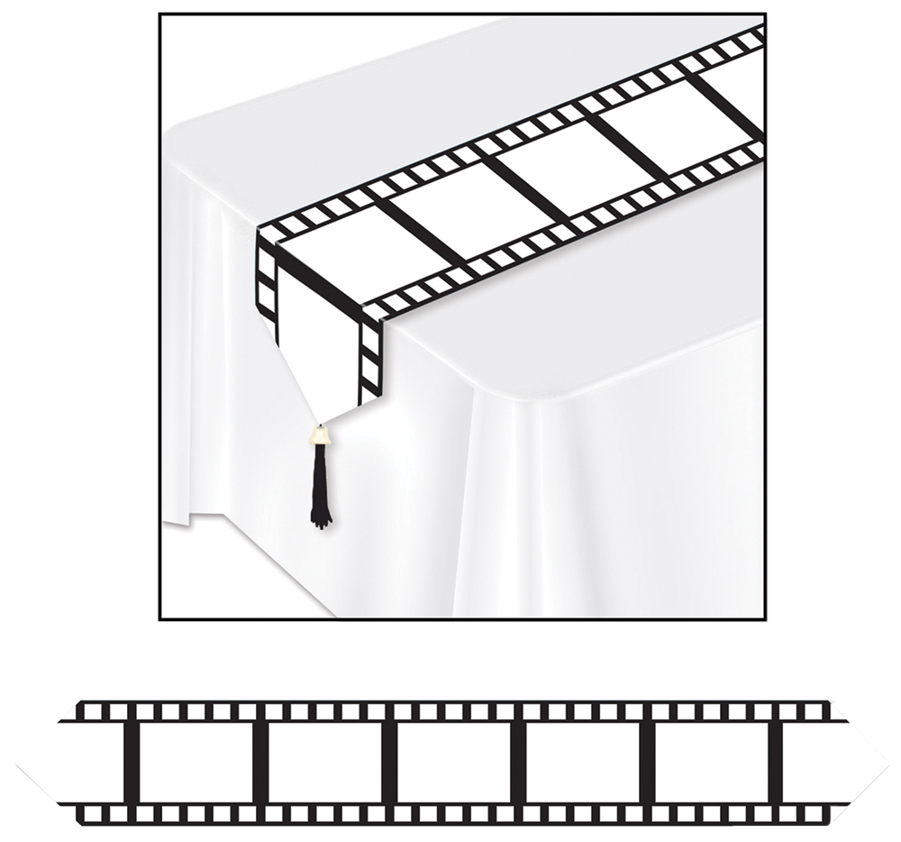 Featured Image for 11″ X 6′ Filmstrip Table Runner