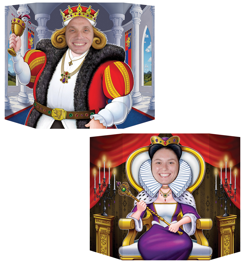Featured Image for King & Queen Photo Prop