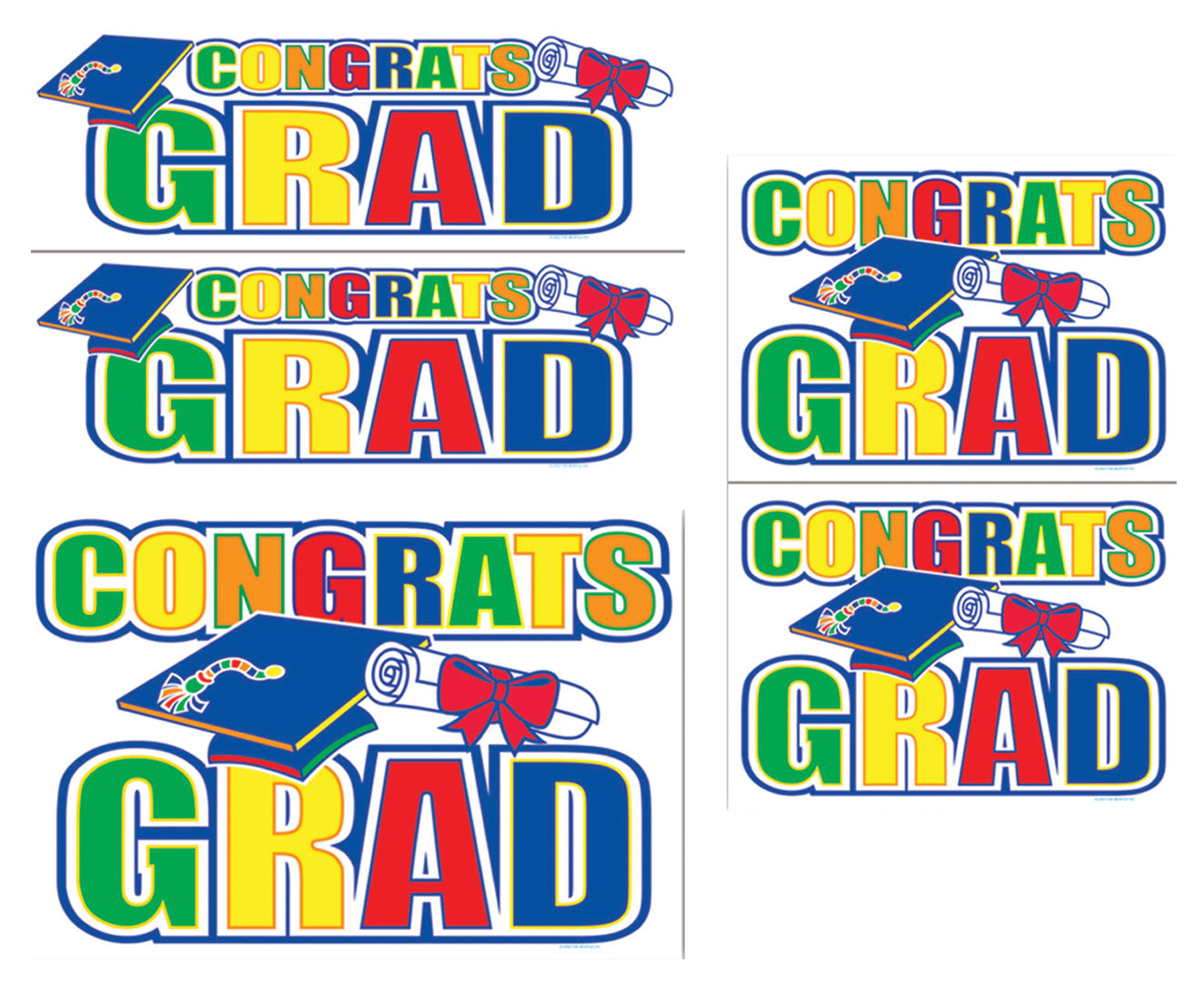 Featured Image for Congrats Grad Auto-Clings