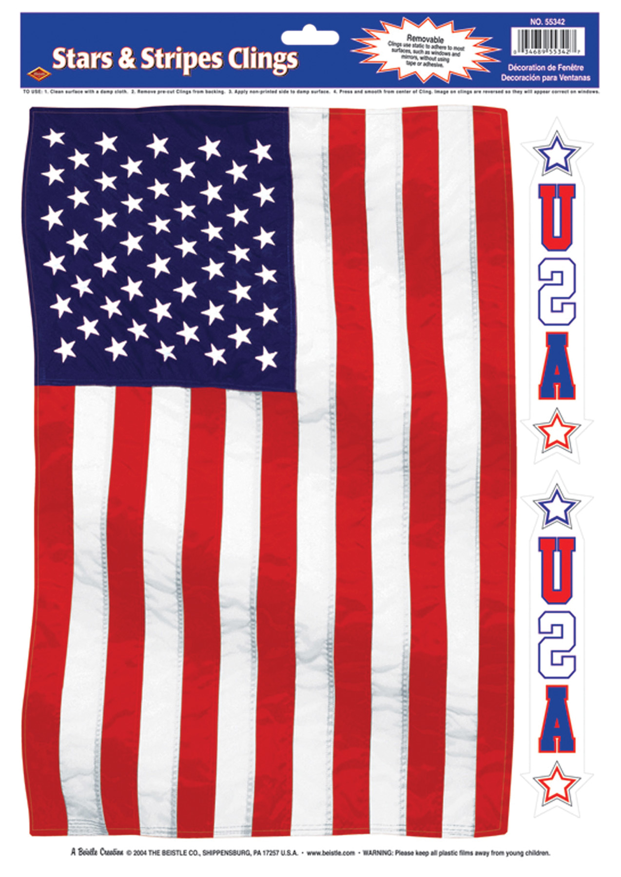 Featured Image for Stars Stripes Cling