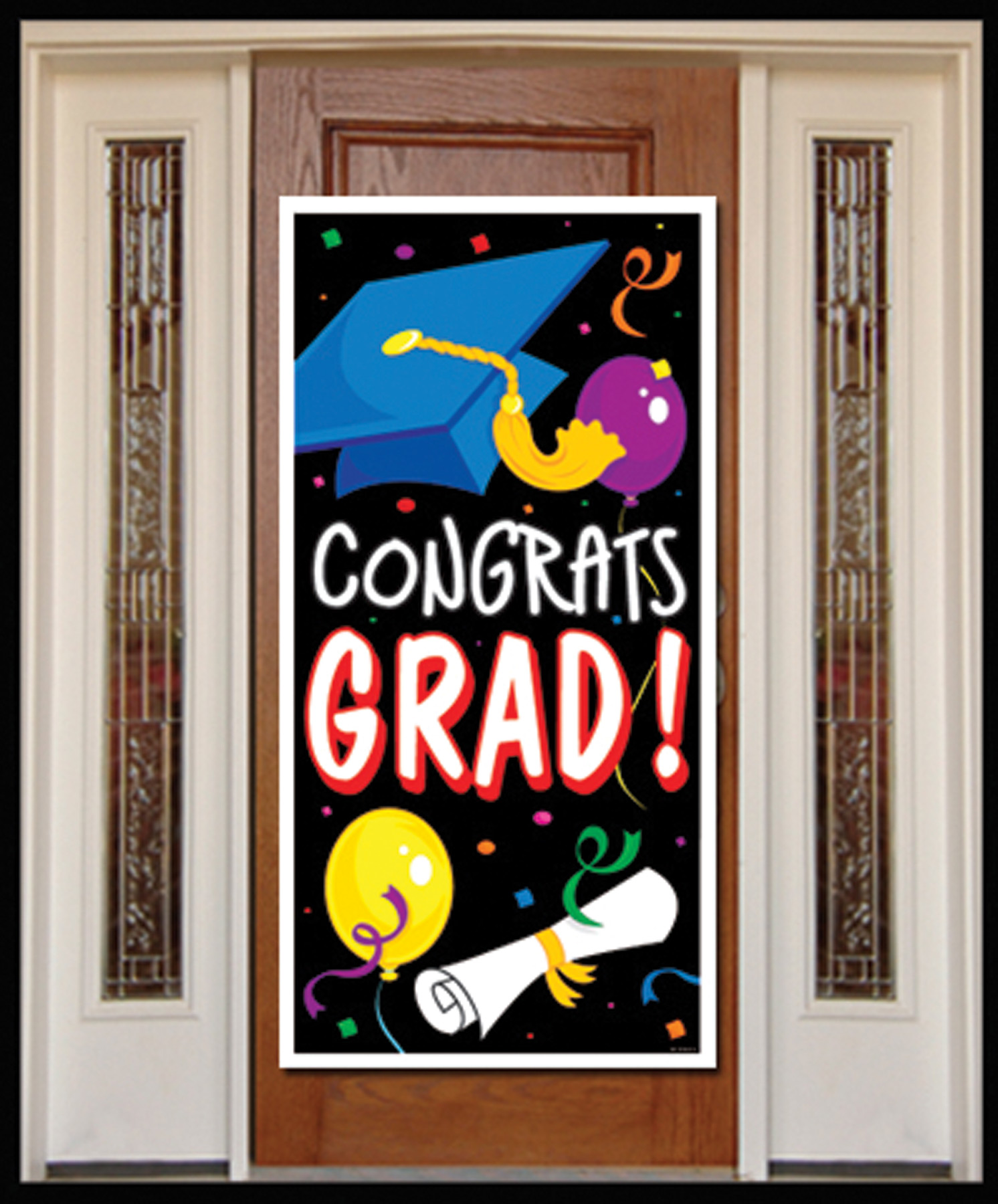 Featured Image for Congrats Grad Door Cover