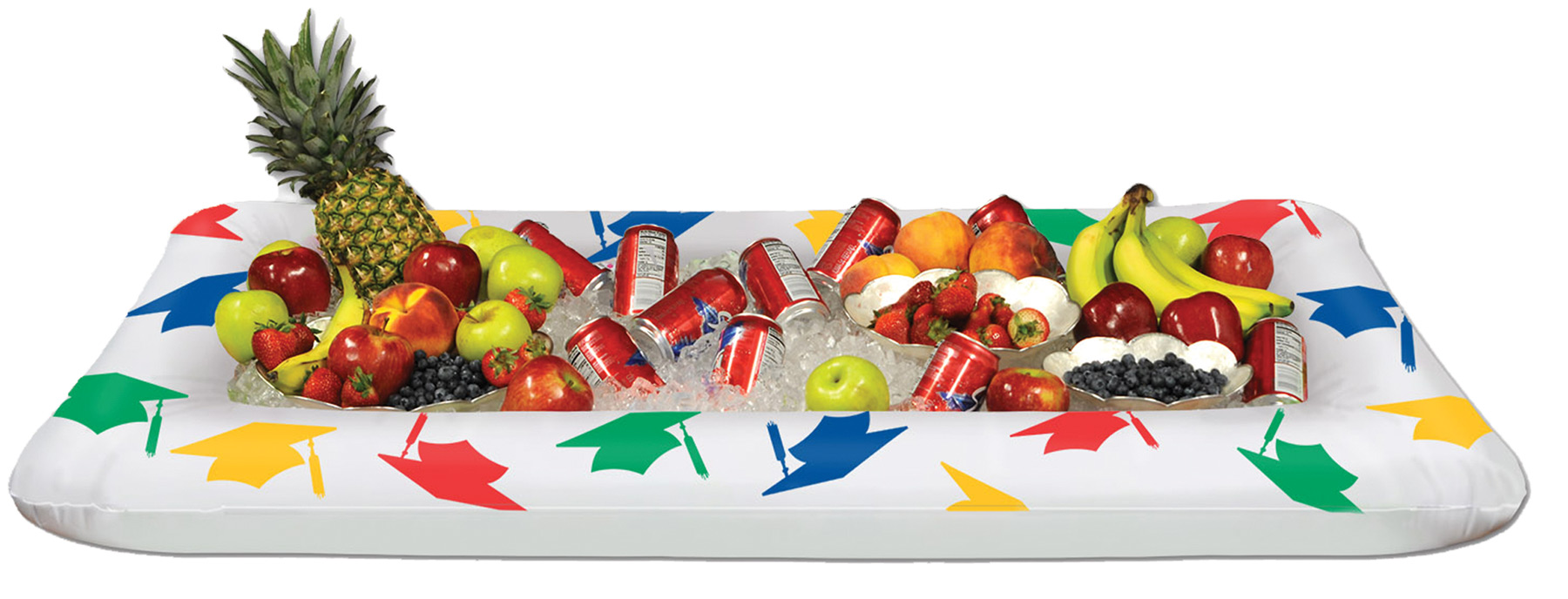Featured Image for Inflatable Grad Buffet Cooler