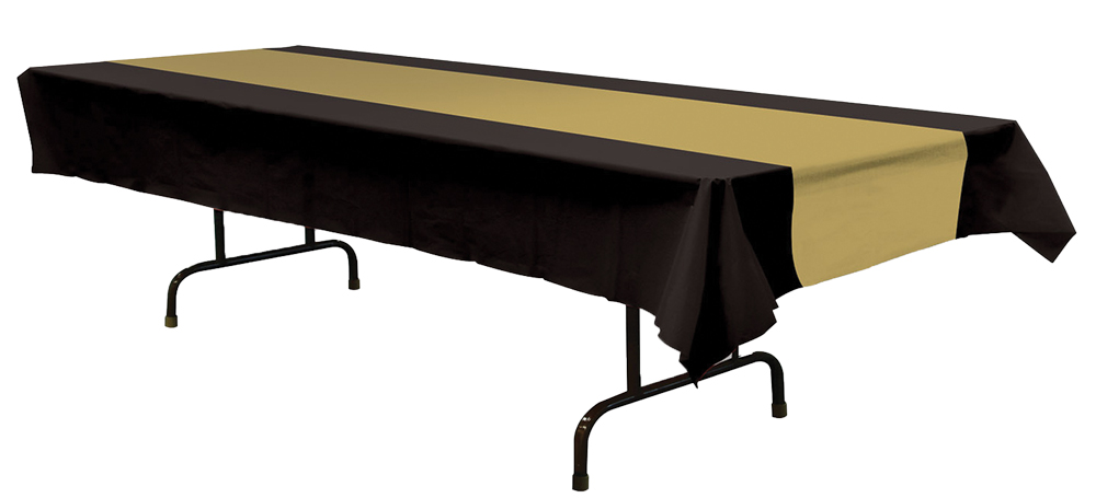 Featured Image for Table Cover Black Gold