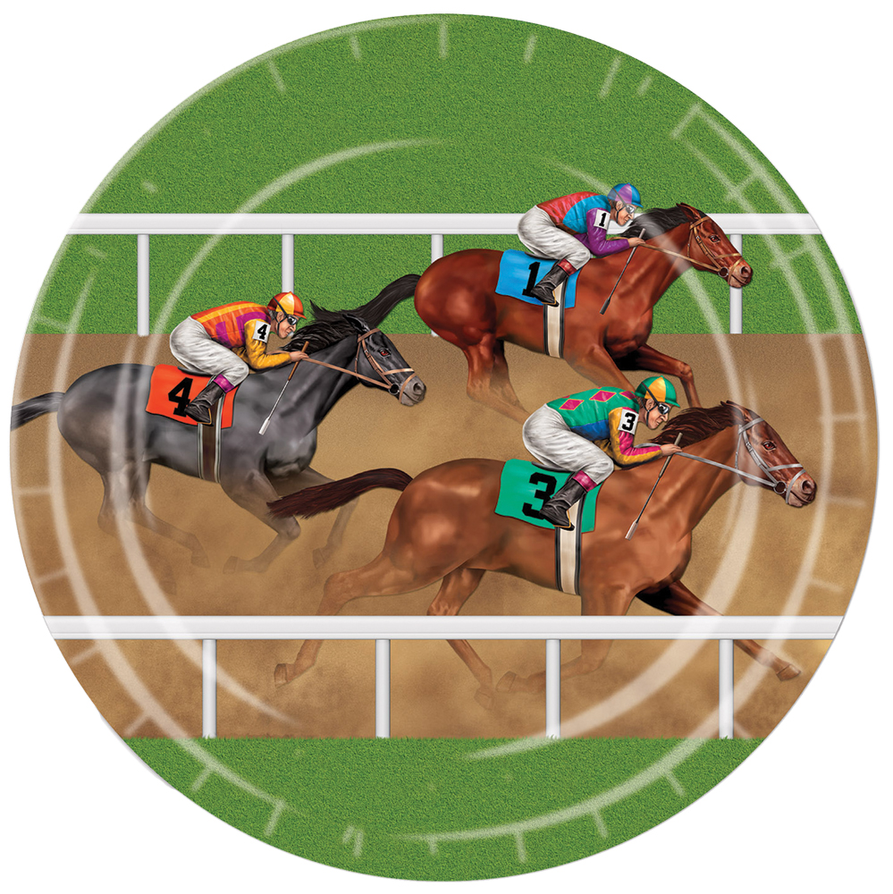 Featured Image for Horse Racing Plates 9in – Pack of 8