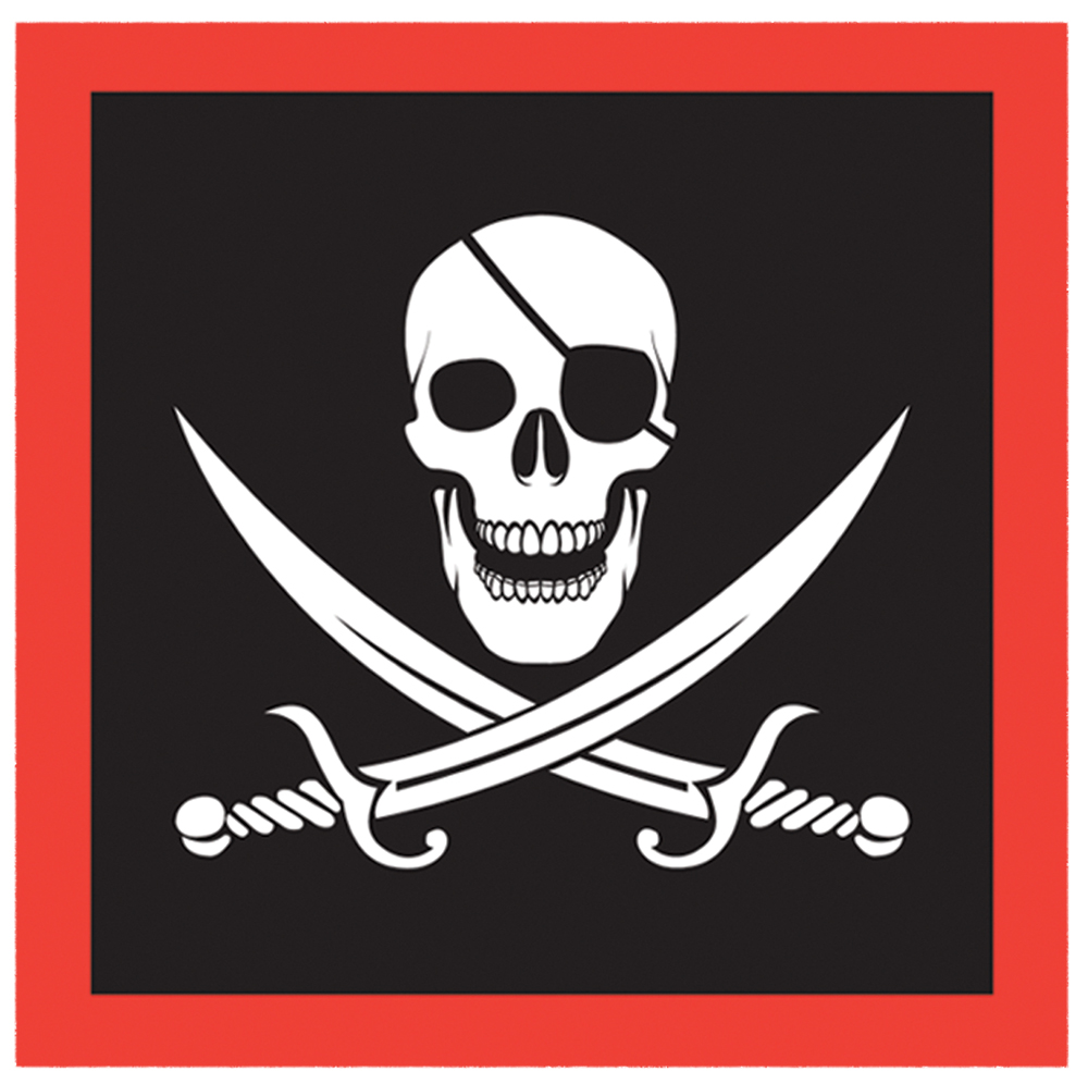 Featured Image for Pirate Napkins – Pack of 16