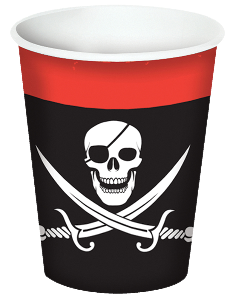 Featured Image for Pirate Beverage Cups 9oz – Pack of 8