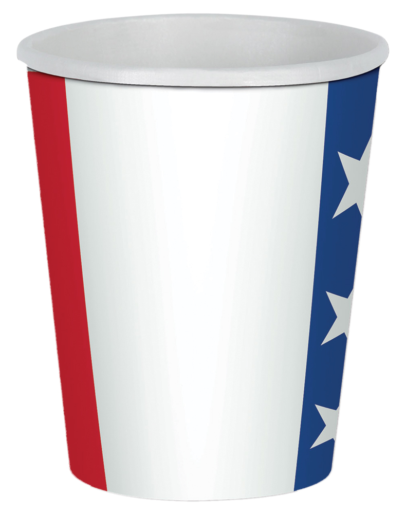 Featured Image for Patriotic Beverage Cups 9oz – Pack of 8