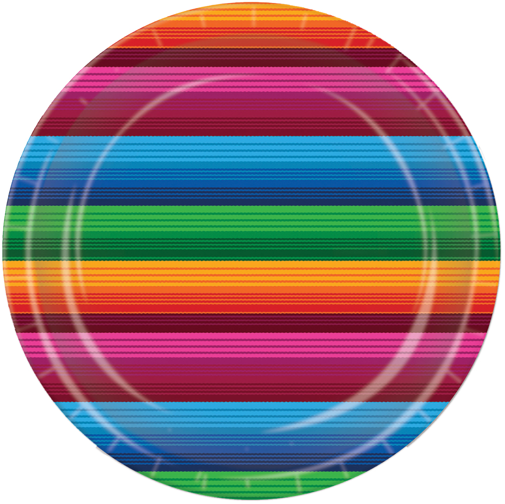 Featured Image for 9″ Fiesta Plates – Pack of 8