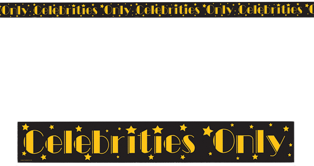 Featured Image for Celebrities Only Party Tape