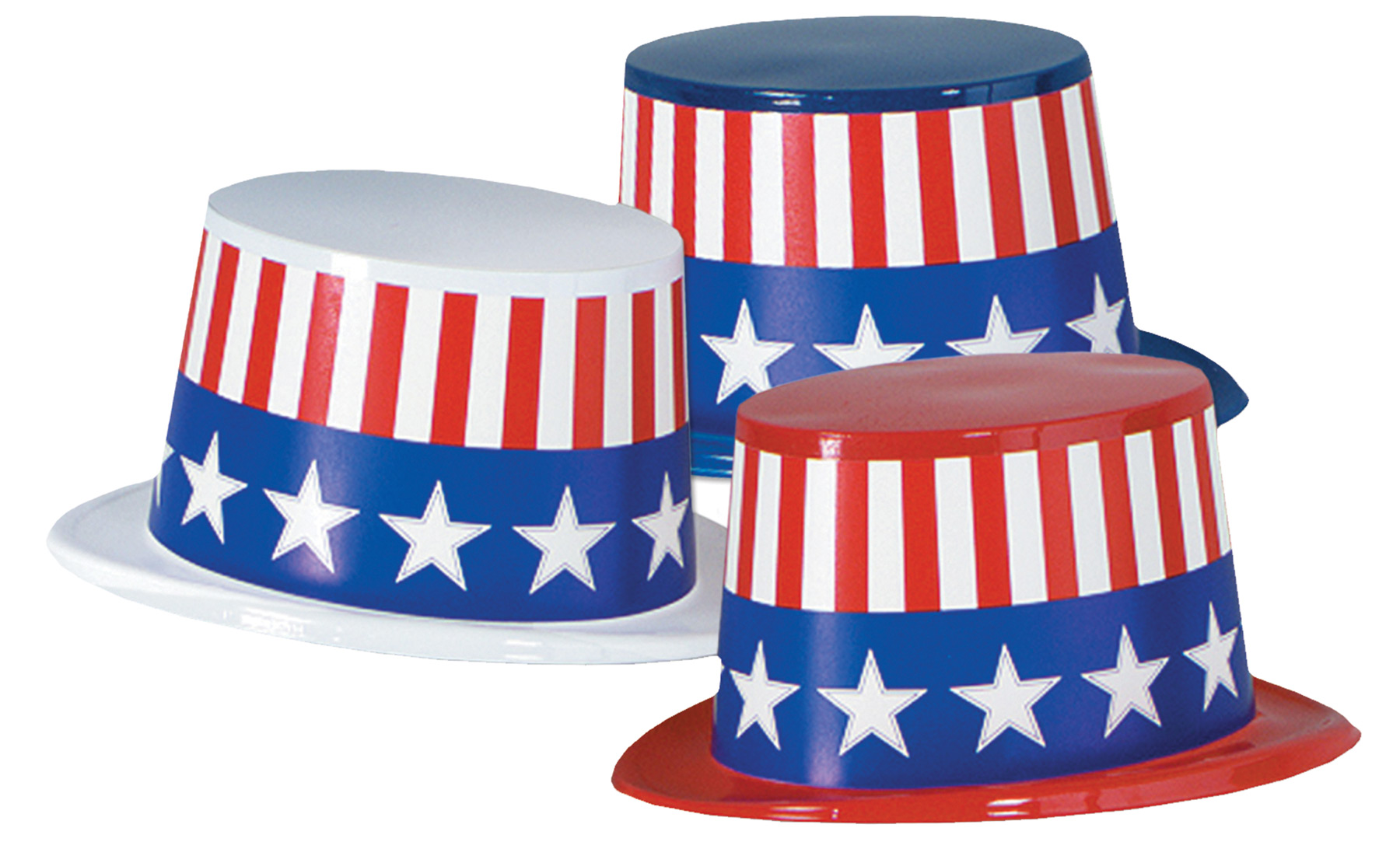 Featured Image for Plastic Toppers Patriotic 25