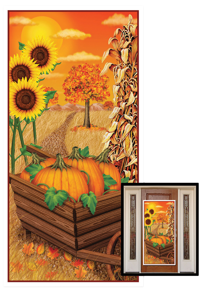 Featured Image for Fall Door Cover 30″ X 5′