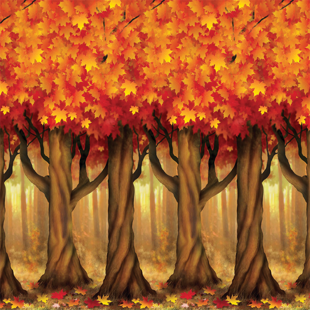 Featured Image for Fall Trees Backdrop 4′ X 30′