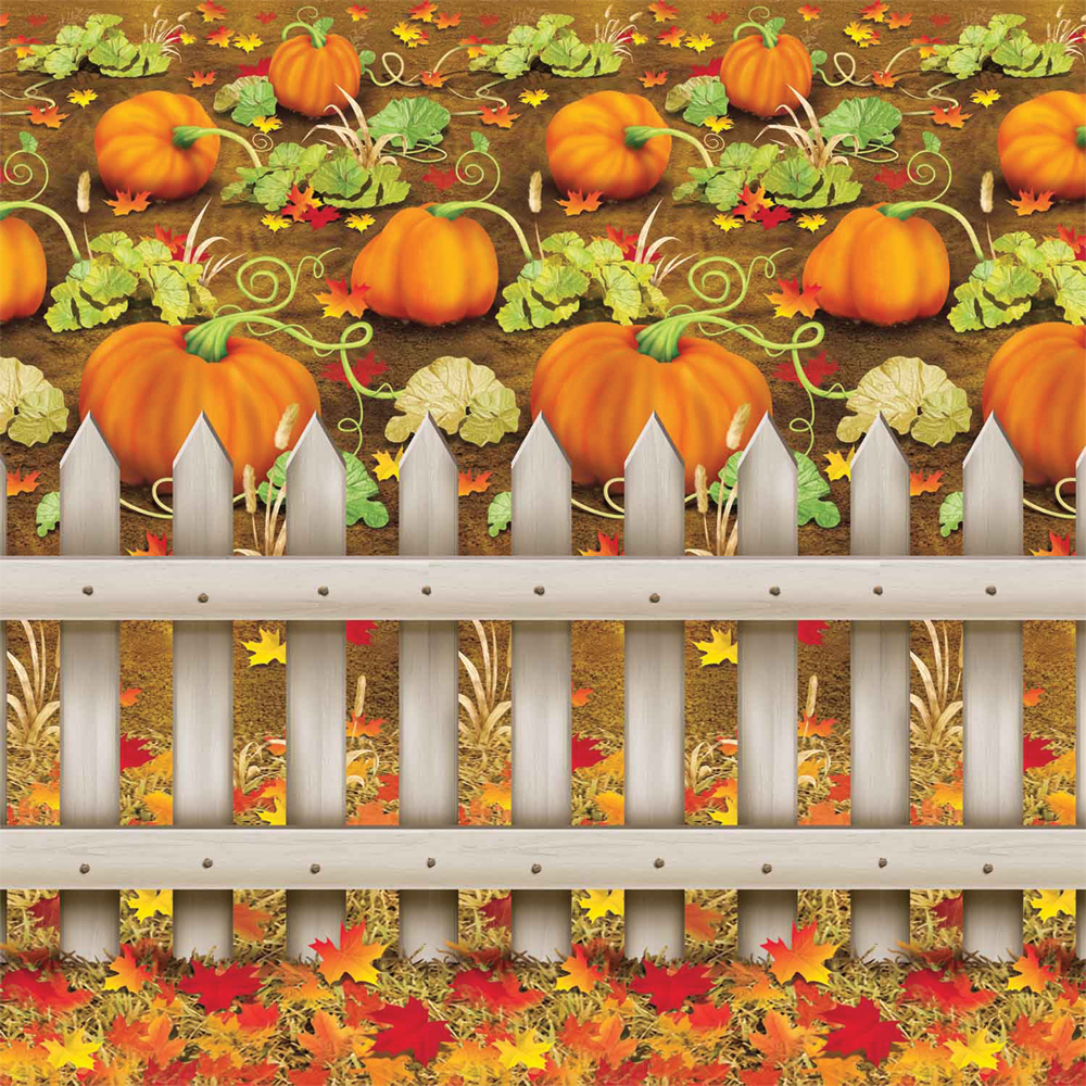 Featured Image for 4′ X 30′ Pumpkin Patch Backdrop