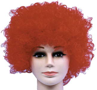 Featured Image for Curly Clown Red Budget Wig