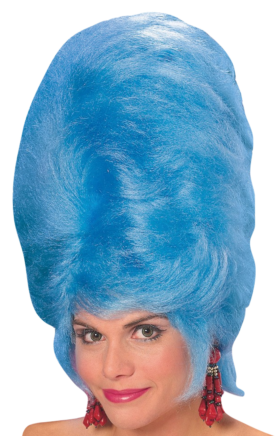 Featured Image for Blue Beehive Wig