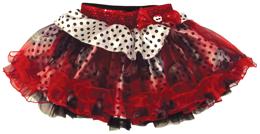 Featured Image for Monster High Petticoat Red Black Dots Whit
