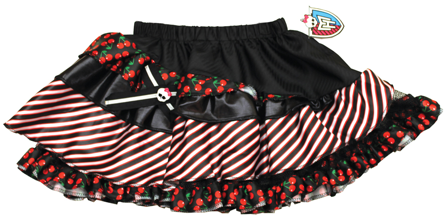 Featured Image for Monster High Pettiskirt Black & Red